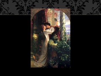 Romeo and Juliet Paintings and Illustrations of Scenes