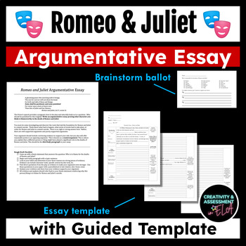 Topics For An Argumentative Essay On Romeo And Juliet