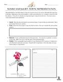 Romeo and Juliet:  Poetic Representation