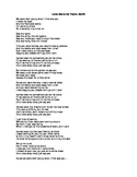 Romeo and Juliet Pop songs for 4 Acts