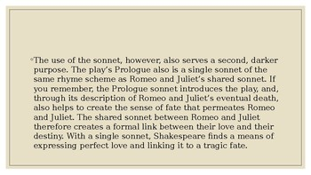 Romeo and Juliet Power Point