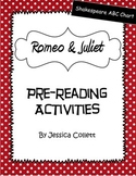 Romeo and Juliet Pre-Reading Activities