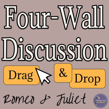 Romeo and Juliet Discussion Activity Digital Resource
