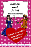 Romeo and Juliet Production Pack (Abridged Play)