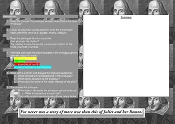 Romeo and Juliet Prologue Analysis