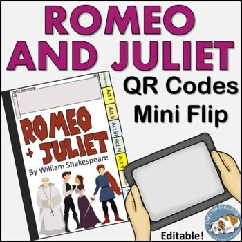 Romeo and Juliet QR Mini Flip