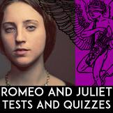 Romeo & Juliet Quiz Bundle | Romeo & Juliet Test Bundle | Answer Keys Included
