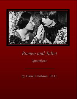 Romeo and Juliet Quotation Review