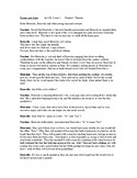Romeo and Juliet Readers Theater Act III, scene 1