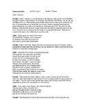 Romeo and Juliet Readers Theater Act III, scene 2