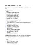Romeo and Juliet Readers Theater   Act V, scene 3