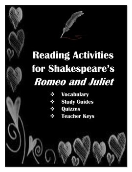 Romeo and Juliet Reading Activities
