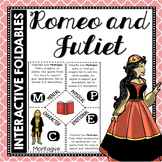 Romeo and Juliet: Reading and Writing Interactive Notebook Foldable