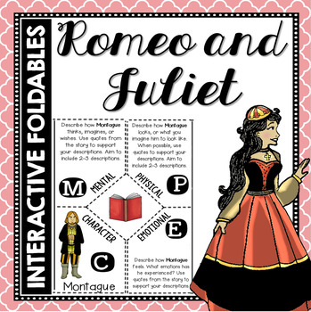 Romeo and Juliet: Reading and Writing Interactive Notebook