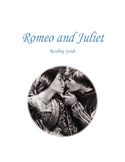 Romeo and Juliet Reading Guide