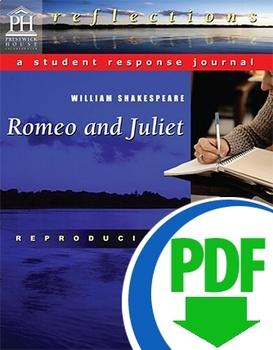 Romeo and Juliet Response Journal