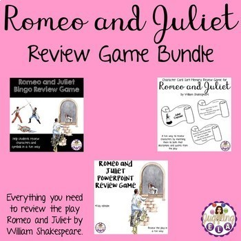 Romeo and Juliet Review Game Bundle