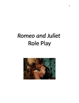 Romeo and Juliet Role Play