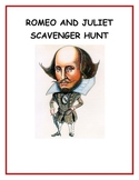 Romeo and Juliet Scavenger Hunt