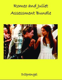 Romeo and Juliet (Shakespeare) Act 1 2 3 4 5 Quiz and Test Assessment Bundle