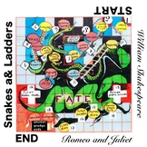 Romeo and Juliet Snakes and Ladders plot points