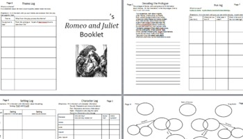 Romeo and Juliet Student Booklets