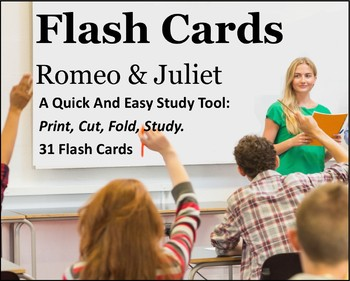 Romeo and Juliet Study Flash Cards