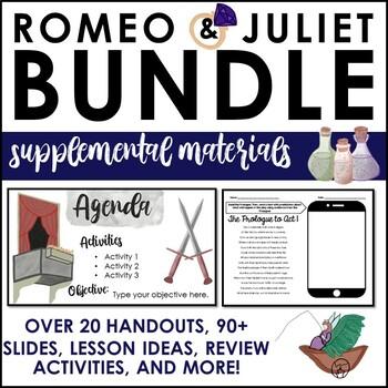 Romeo and Juliet Supplemental Materials BUNDLE