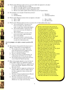 Romeo and Juliet Test