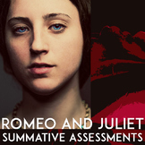 Romeo & Juliet Tests: Quotes, Essay Prompts, Creative Projects, Collaborative