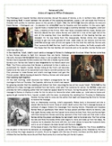 Romeo and Juliet - The Story- Reading Comprehension / Voca