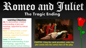 Romeo and Juliet: The Tragic Ending!