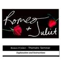 Socratic Seminar - Romeo and Juliet - Common Core Aligned