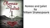 Romeo and Juliet Read Along Quizzes/Tests and More!