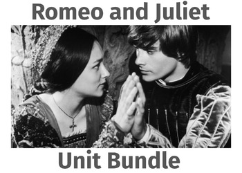 Romeo and Juliet Unit Bundle