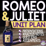 ROMEO AND JULIET UNIT PLAN