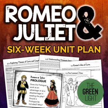 Romeo and Juliet Unit Plan, Worksheets, Projects, PowerPoints, Essays