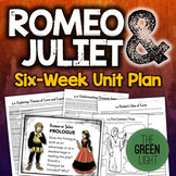 Romeo and Juliet Unit Plan, Worksheets, Projects, PowerPoi