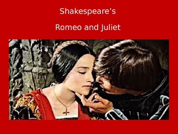 Romeo and Juliet Unit PowerPoint