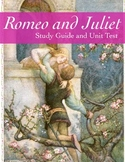 """Romeo and Juliet"" Unit Test with Study Guide"