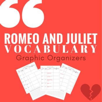 Romeo and Juliet Vocabulary Graphic Organizers
