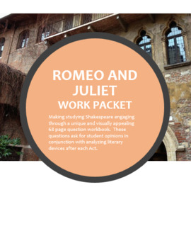 Romeo and Juliet Work Packet