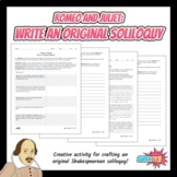Romeo and Juliet: Write an Original Soliloquy