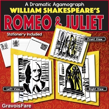 Romeo and Juliet Activity — Writing and Art Activity (by William Shakespeare)