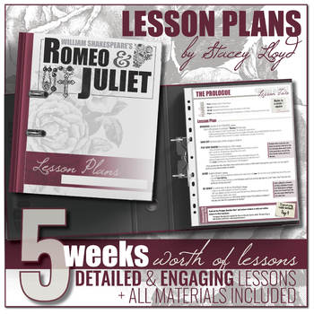 Romeo and Juliet by Shakespeare: Teaching Unit {Lesson Plans and Activities}