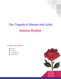 Romeo and Juliet by William Shakespeare - Act Quizzes with