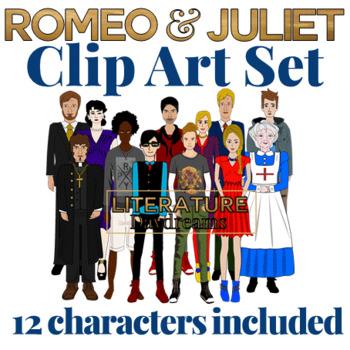 Romeo and Juliet Clip Art