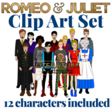 Romeo and Juliet Clip Art