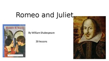 Romeo and Juliet for Lower-Level English Language Learners