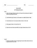 Romeo and Juliet reading questions Act III